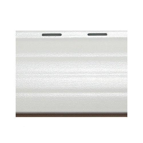 Lama para persiana de aluminio térmico blanco de 1500x37x37 mm