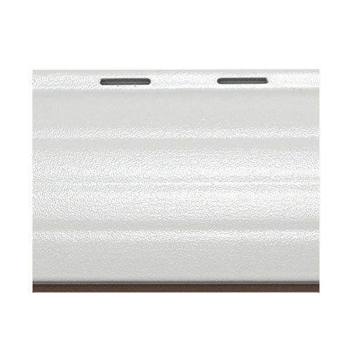 Lama para persiana de aluminio térmico blanco de 2000x37x0.8 mm