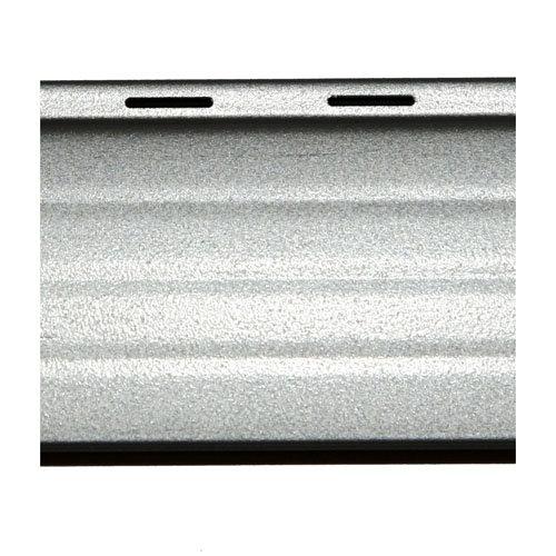 Lama para persiana de aluminio térmico gris / plata de 1500x37x37 mm