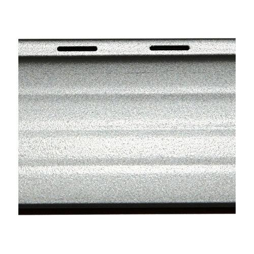 Lama para persiana de aluminio térmico gris / plata de 2000x37x37 mm