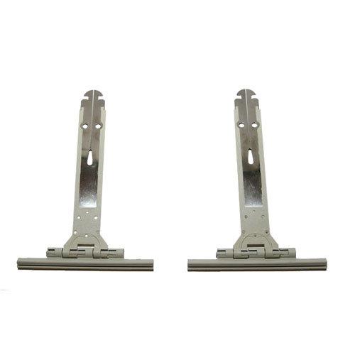 2 tirantes fleje para eje de persiana de acero de 115x150x10 mm