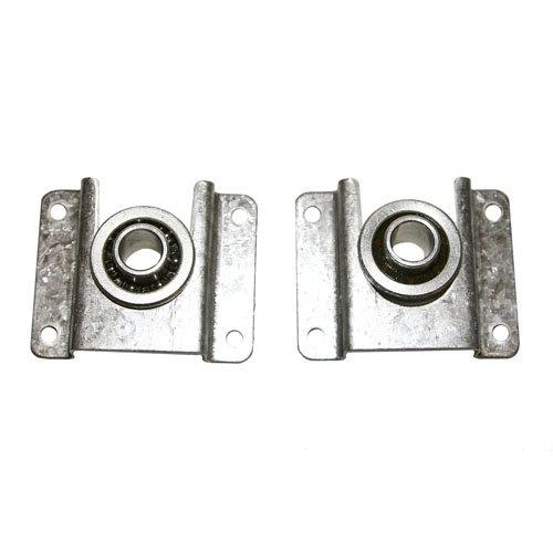 Soporte para eje de persiana de acero galvanizado de 15x80 mm