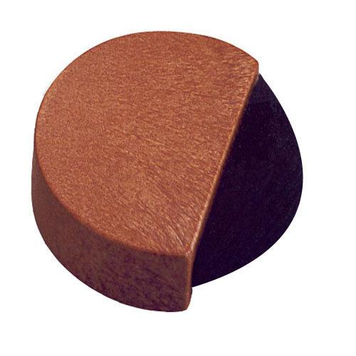 Tope de puerta para fijar en el suelo madera de 4x1,4x4 cm