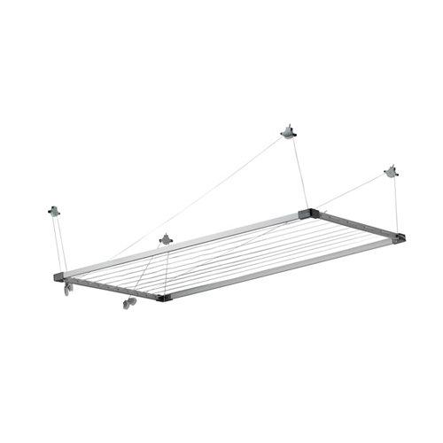 Tendedero para techo de aluminio 78x160m