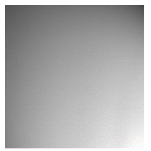 Chapa metálica de aluminio de 25x50 cm y 0.5 mm espesor