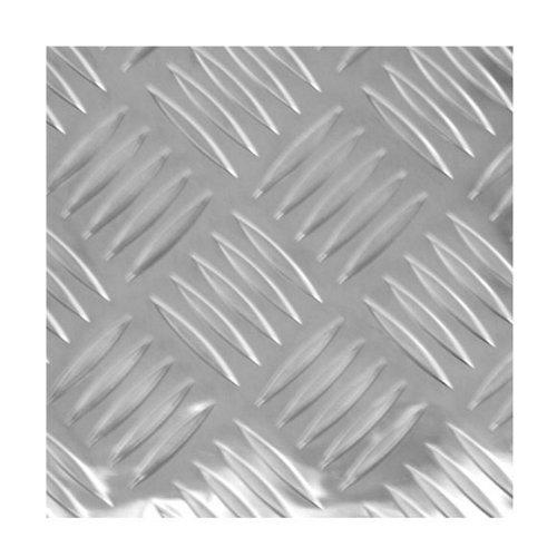 Chapa metálica de aluminio de 50x100 cm y 0.15 mm espesor