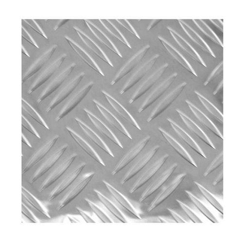 Chapa metálica de aluminio de 50x50 cm y 0.15 mm espesor