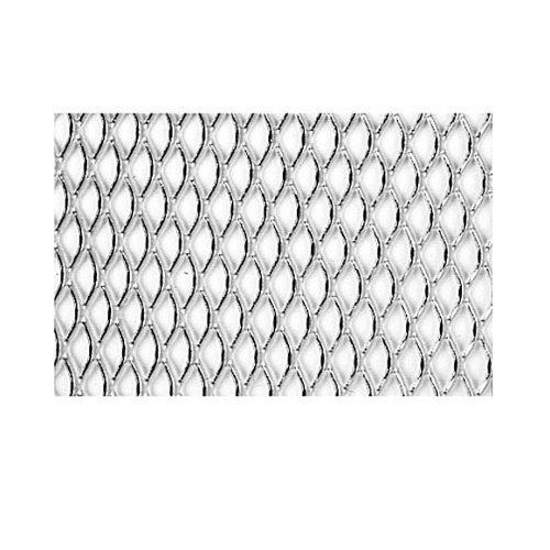 Chapa metálica de aluminio de 25x50 cm y 0.8 mm espesor
