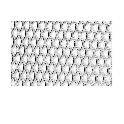 Chapa metálica de aluminio de 50x50 cm y 0.8 mm espesor