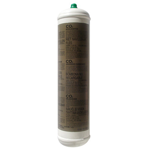 Botella de gas de co2 awelco ce-gasco2plus de 0.95 litros