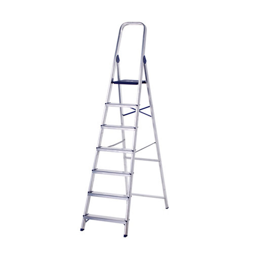 Escalera de uso doméstico de aluminio7peldaños