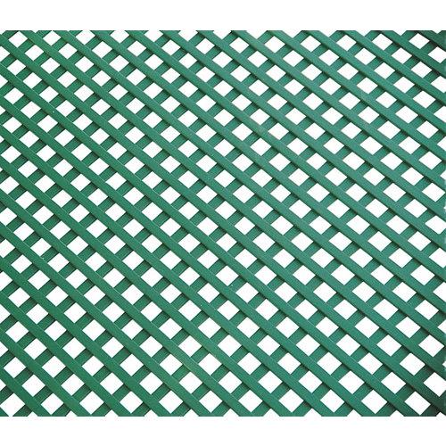Celosía fija de pvc verde 100 x 200 cm
