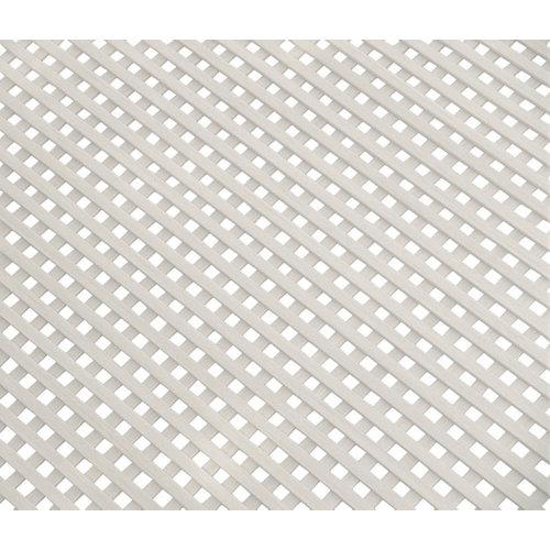 Celosía fija de pvc blanco 200x100 cm