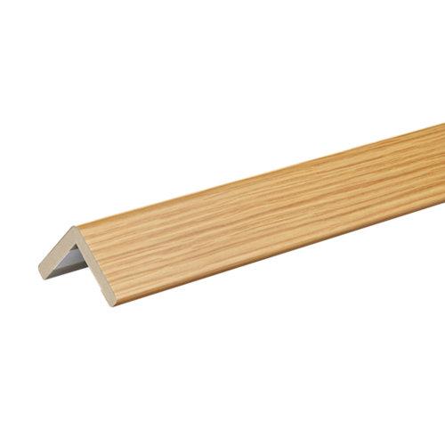 Guardavivo mdf roble barniz adhesivo 30x30 mm x 2,75 m (ancho x grueso x largo)