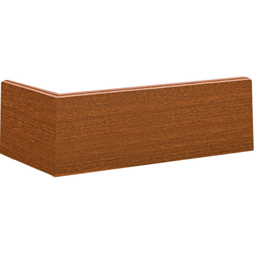 Rodapié sapelly de mdf de 7 cm con pasacable