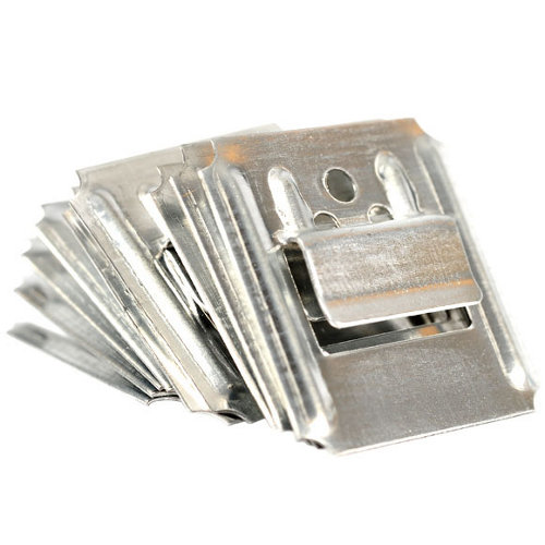 250 grapas de acero de 25 mm de longitud y8 mm de profundidad