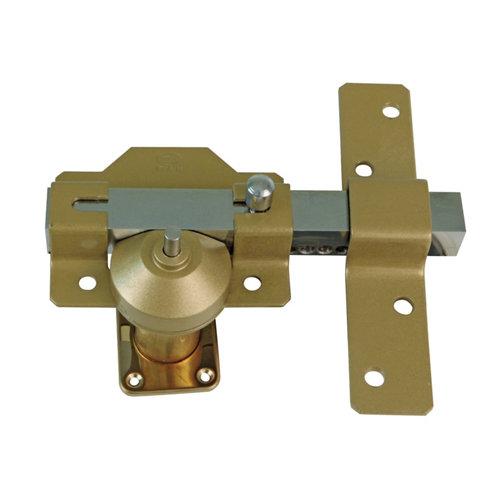 Cerrojo de seguridad botón/llave de 26 mm ancho martelé