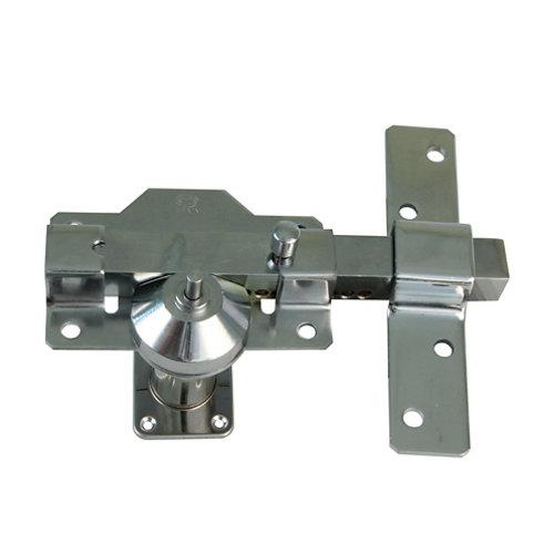 Cerrojo botón-cilindro 88mm cromo mod.1