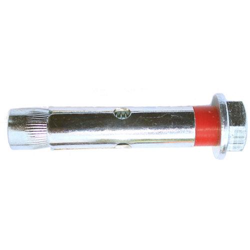 2 tacos para material macizo de acero de 100 mm y 12 mm de ø