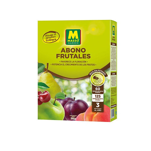 Abono para frutales massó 2 kg