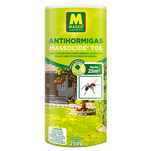 Insecticida anti hormigas massó 250 gr