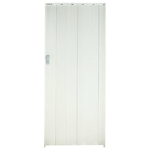Lama para puerta plegable spacy en pvc de 12.5x205cm