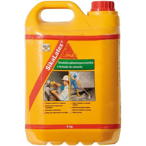 Emulsión adhesiva para mortero sikalatex 5 kg