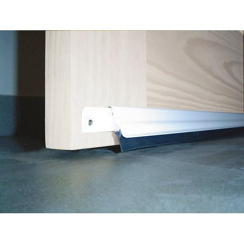Bajo puerta aluminio bresme 93cm blanco