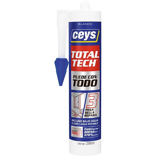 Sellador adhesivo ms-tech 290 ml blanco