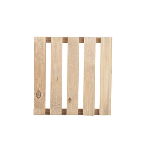 Baldosa de madera de pino para exterior 40x40 cm y 28 mm