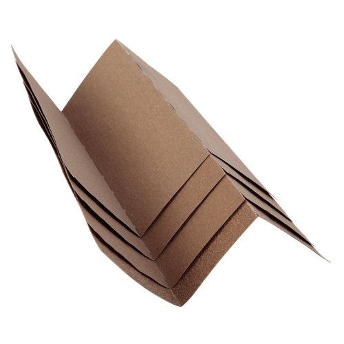 Pack de 12 lijas rulo pluma madera