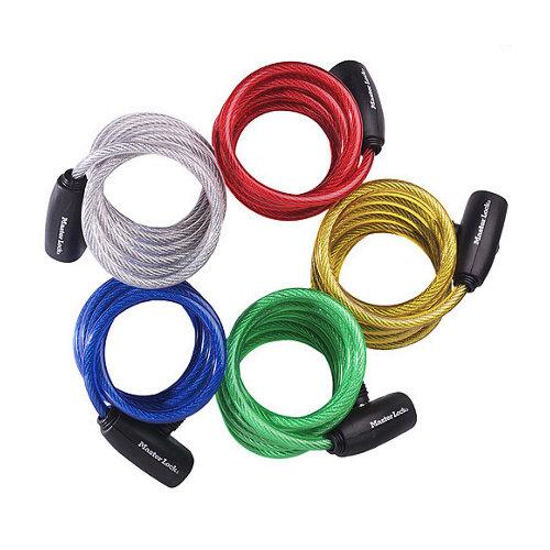 Cable antirrobo con llave de 8 mm de ø y 1.8 m de longitud