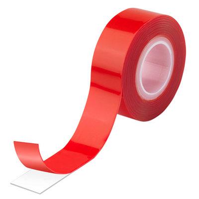 Cinta adhesiva doble cara transparente 19 mm de 1,5 m