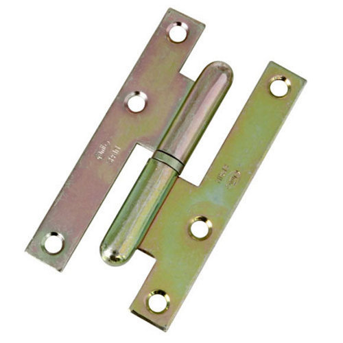 Pernio a izquierda de acero bicromado y 52x95 mm