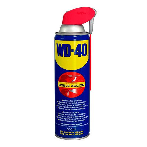 Spray lubricante multiusos wd40. bote de 500 ml
