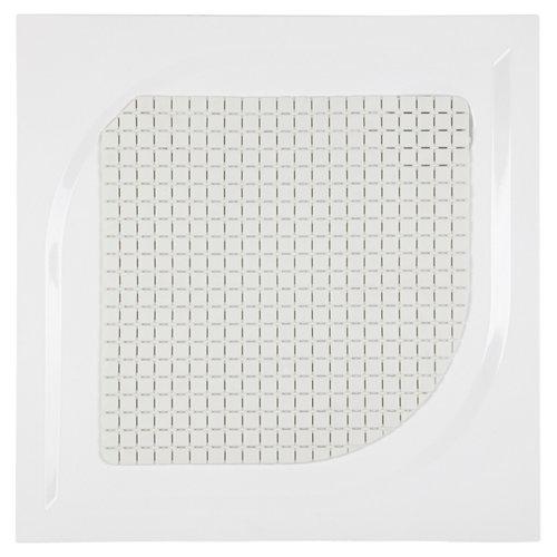 Figuras antideliszante alfombras antideslizantes blanco 48.5 cm