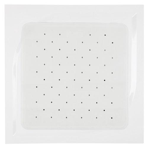 Alfombra antideslizante blanco 54 cm
