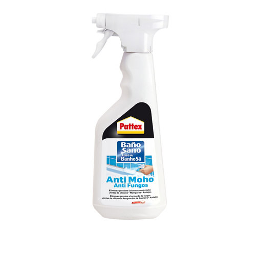 Spray anti moho para saneamiento baño sano pattex 500 ml