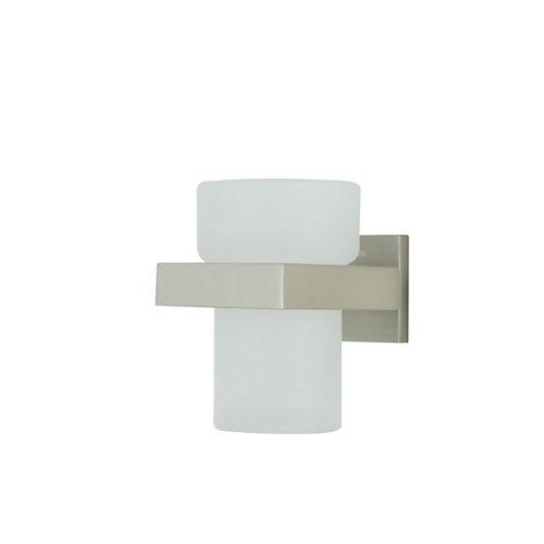 Vaso de baño items incoloro / transparente mate