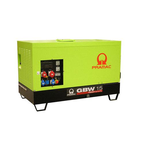Generador pramac gbw15p mcp diésel de 10200 w