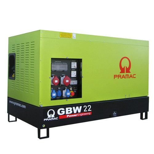Generador pramac gbw22p mcp diésel de 15800 w