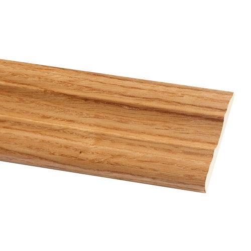 Jamba de mdf roble barnizado 70x10 mm x 2,20 m (ancho x grueso x largo)