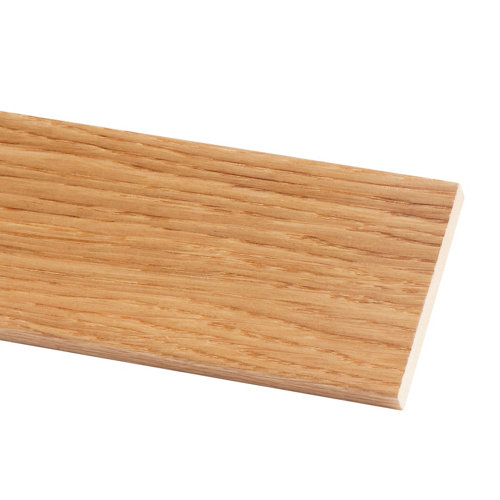 Tapeta de mdf roble barnizado 70x10 mm x 2,20 m (ancho x grueso x largo)