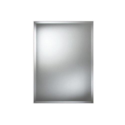 Espejo de baño bisel 100 x 80 cm
