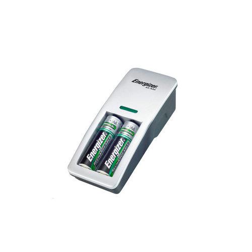 Cargador de pilas energizer compact dúo con pilas