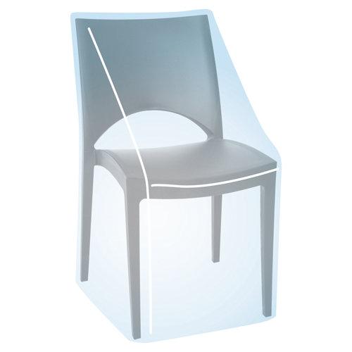 Funda de protección para sillas de poliéster 76x69x91 cm