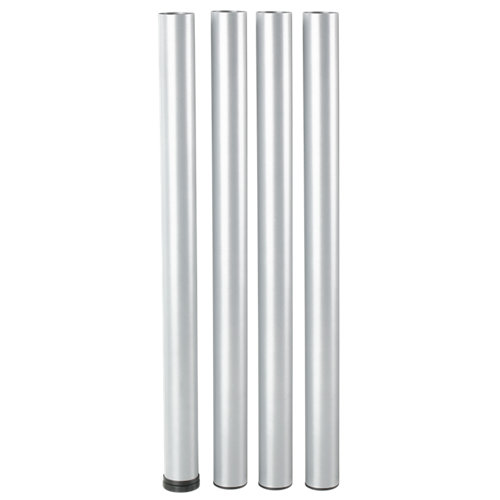 4 pata fija de acero para para muebles y mesas hasta 70 cm