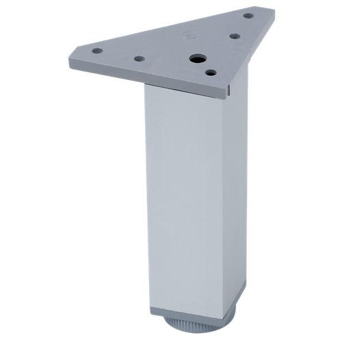 Pata fija de aluminio hasta 15,1 cm
