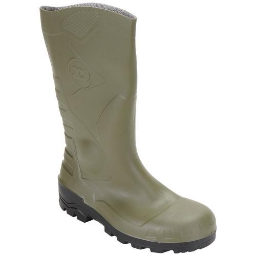 Botas de seguridad dunlop ar-140/161/44 s1 verde t44