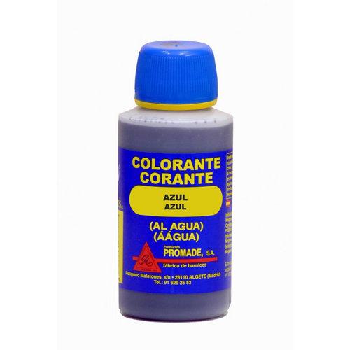 Colorante al agua azul 0,125l